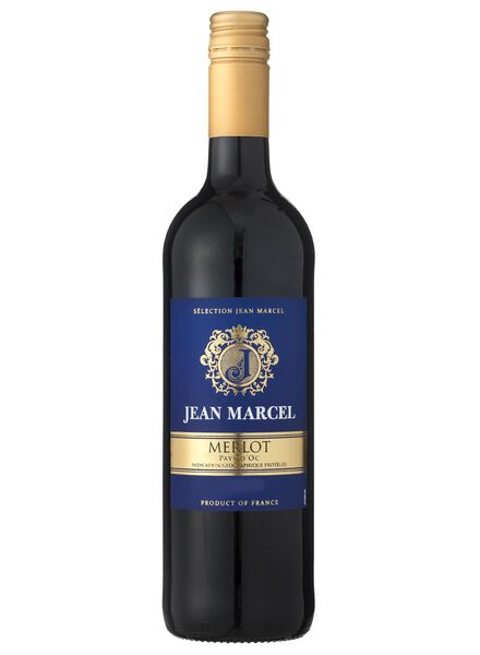 jean marcel merlot - rood - 17361140 - HEMA