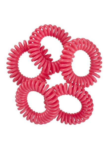 5-pak spiraal elastiekjes - 11870023 - HEMA