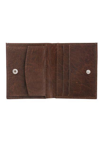 leren portemonnee - 18160032 - HEMA