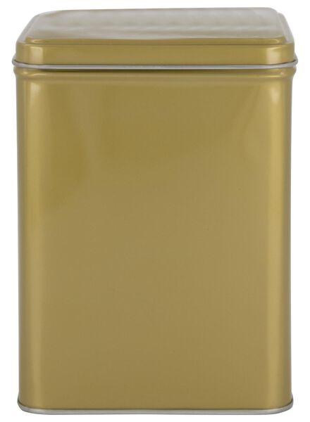 opbergblik - 10.5 x 10.5 x 14 cm - goud - 80630643 - HEMA