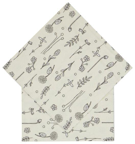 servetten 33x33 papier planten - 20 stuks - 14200456 - HEMA