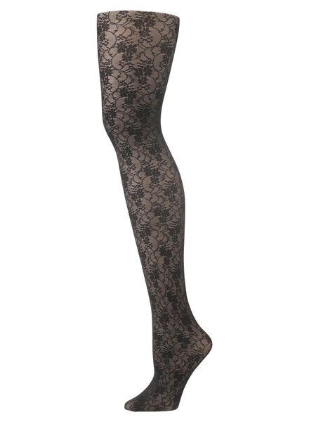 panty zwart zwart - 1000001241 - HEMA