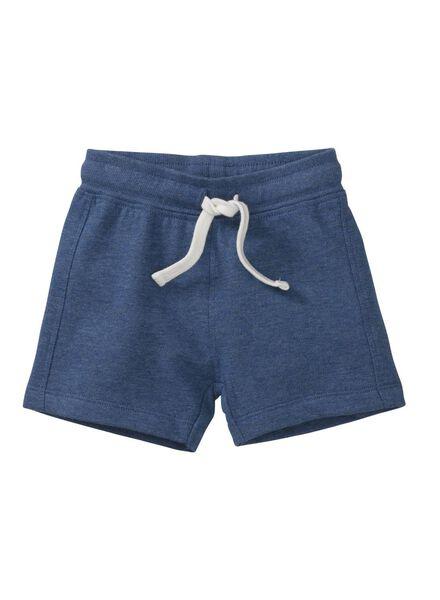 baby korte broek blauw blauw - 1000007998 - HEMA