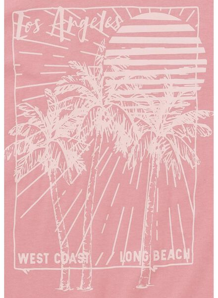 heren t-shirt roze roze - 1000012642 - HEMA