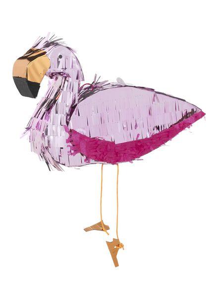 piñata flamingo 25 x 35 cm - 14210024 - HEMA