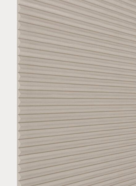 plissé dubbel lichtdoorlatend / witte achterzijde 25 mm - 7430004 - HEMA
