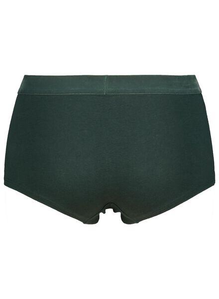 dameshipster fluweel katoen groen groen - 1000014529 - HEMA