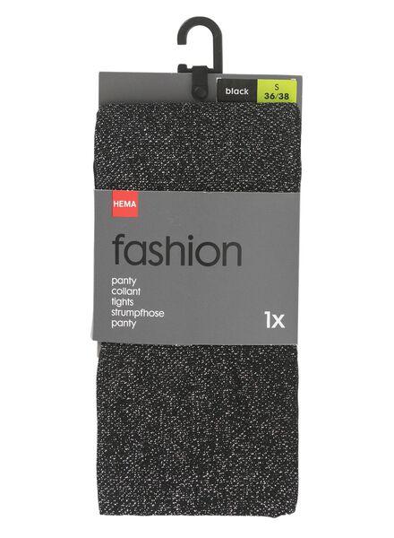 panty zwart zwart - 1000010285 - HEMA