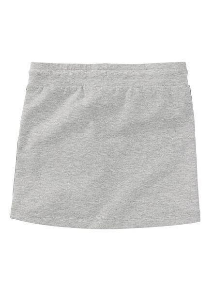 kinder sweatrok grijsmelange grijsmelange - 1000008389 - HEMA