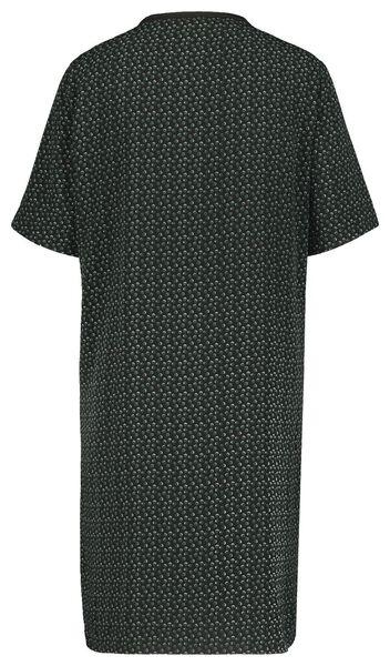 damesjurk zwart/wit zwart/wit - 1000020919 - HEMA