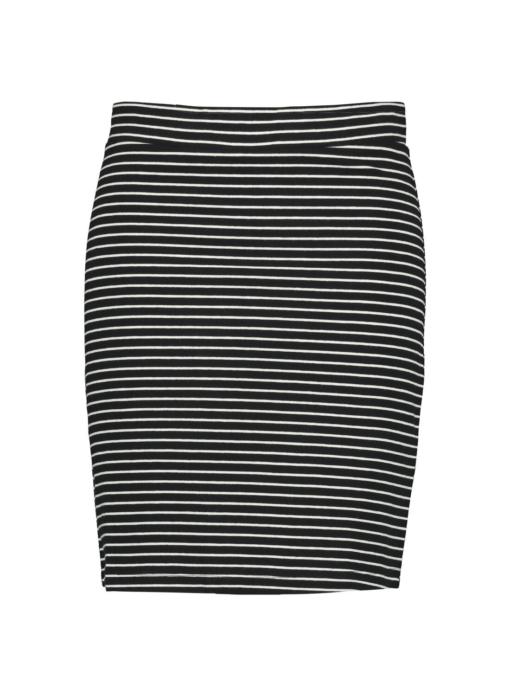 HEMA Damesrok Zwart/wit (zwart/wit)