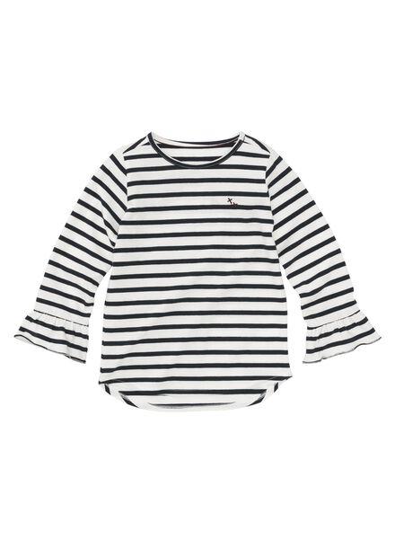 kinder t-shirt donkerblauw donkerblauw - 1000008562 - HEMA