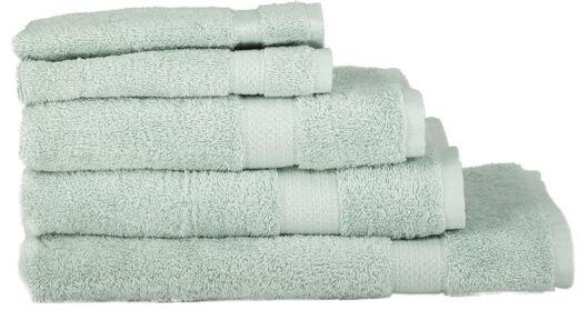 handdoeken - zware kwaliteit lichtgroen - 1000015745 - HEMA