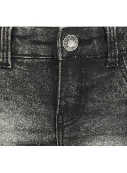 kinder jeans regular fit zwart zwart - 1000016840 - HEMA