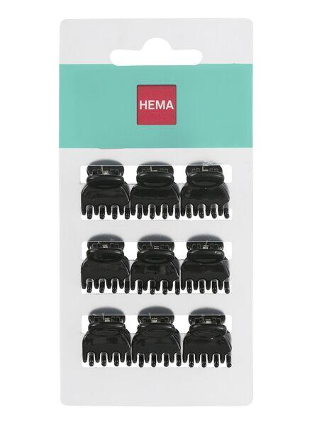 9-pak haarklemmetjes - 11872005 - HEMA
