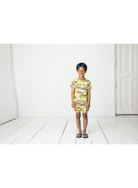 kinder t-shirt - Bananas&Bananas geel geel - 1000014160 - HEMA