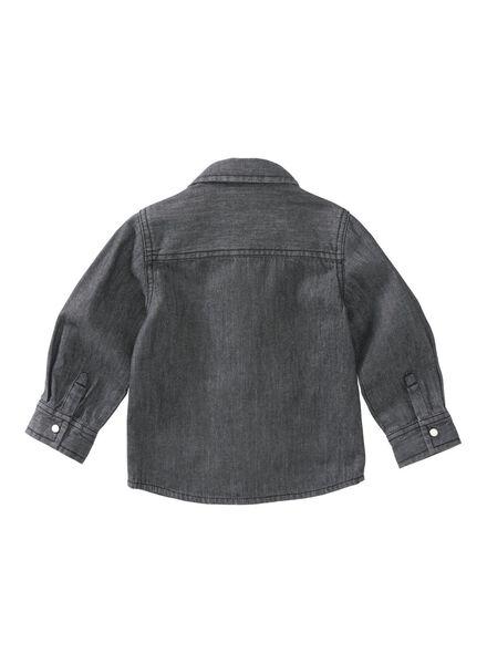 babyblouse grijs grijs - 1000008444 - HEMA