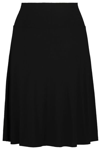 damesrok zwart zwart - 1000019223 - HEMA