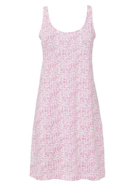 dames nachthemd katoen roze roze - 1000013127 - HEMA
