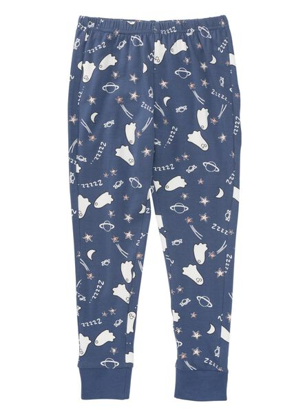 kinderpyjama blauw blauw - 1000009226 - HEMA