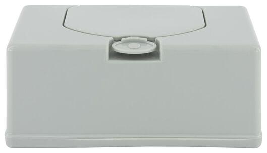 tissuebox grijs 11x20x8.5 - 33504130 - HEMA