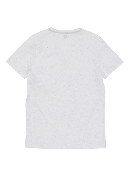 heren t-shirt gebroken wit gebroken wit - 1000009682 - HEMA