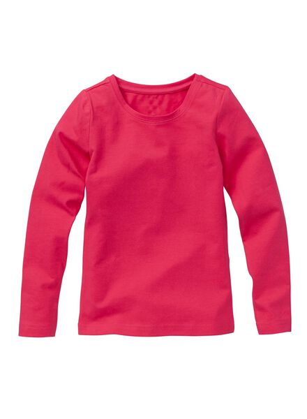 meisjes stretch t-shirt roze roze - 1000005553 - HEMA
