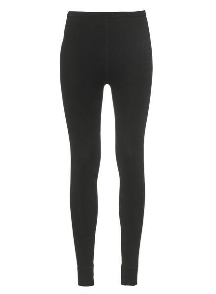 dames thermo broek zwart zwart - 1000002084 - HEMA