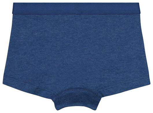 3-pak kinderboxers blauw blauw - 1000019322 - HEMA