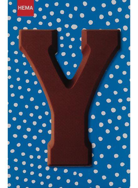 melkchocolade letter Y - 10033053 - HEMA
