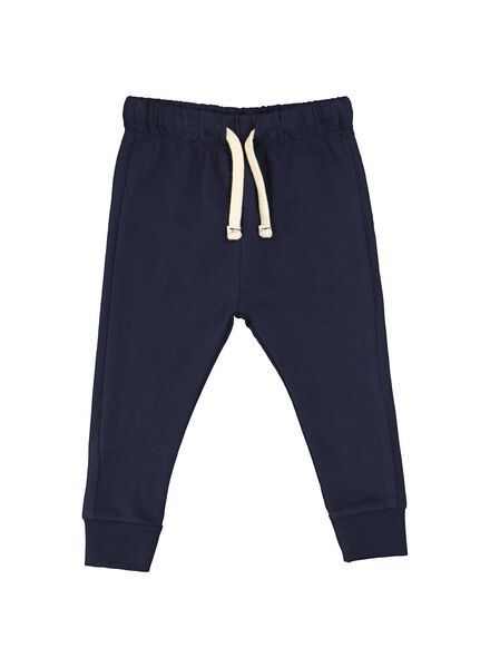 baby sweatbroek blauw blauw - 1000014705 - HEMA