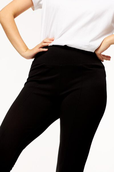 dames legging shaping zwart XL - 36278679 - HEMA