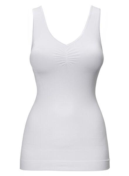 hemd figuurcorrigerend wit wit - 1000002375 - HEMA