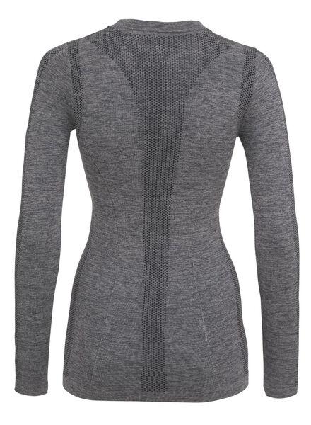 dames sport t-shirt grijs grijs - 1000009314 - HEMA
