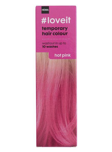 tijdelijke haarkleuring hot pink - 11030004 - HEMA