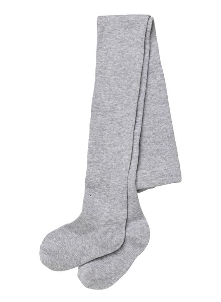 kindermaillot grijsmelange grijsmelange - 1000001968 - HEMA