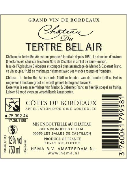 Chateau du Tertre Bel Air 0,75 L - 17361189 - HEMA