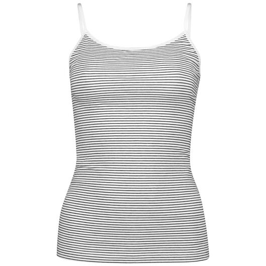 dameshemd katoen wit M - 19600383 - HEMA