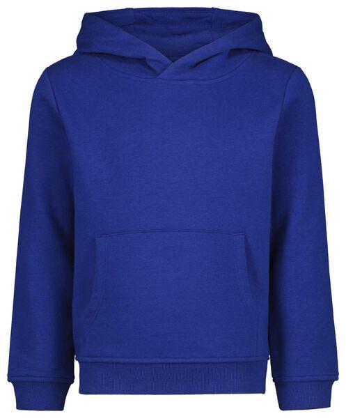 kinderhoodie donkerblauw donkerblauw - 1000021559 - HEMA