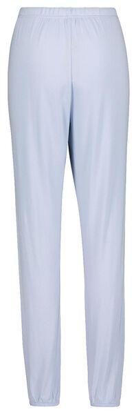 dames pyjamabroek lichtblauw lichtblauw - 1000019774 - HEMA