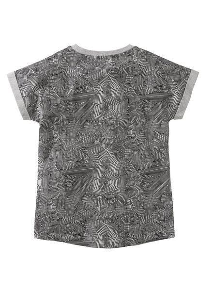 kinder t-shirt legergroen legergroen - 1000003709 - HEMA