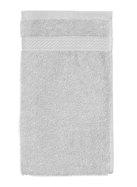 gastendoek - 30 x 55 cm - zware kwaliteit - lichtgrijs uni - 5240206 - HEMA