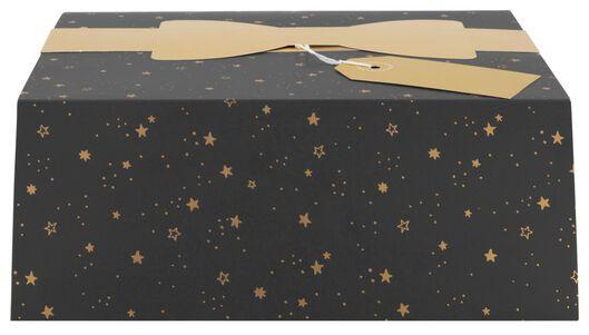 cadeaudoos vouwbaar 18x23x9 sterren - 25700150 - HEMA
