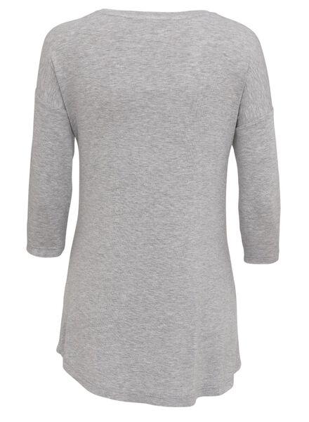 dames nachthemd donkergrijs donkergrijs - 1000009123 - HEMA