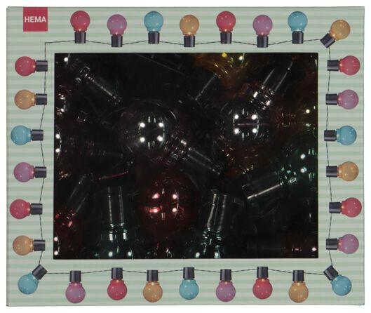 verlichtingssnoer met 20 ballen - 5 meter - 41810172 - HEMA