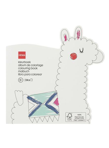 kleurboek alpaca - 15910135 - HEMA