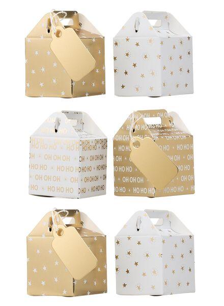 cadeaudoosjes - 4 stuks - 25711735 - HEMA