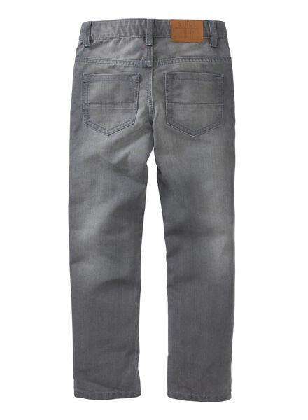 kinderbroek grijs grijs - 1000004557 - HEMA