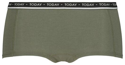 tienerboxer groen groen - 1000019977 - HEMA