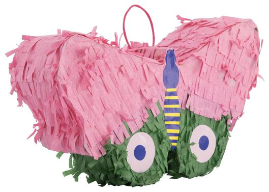 piñata vlinder 19x30x8 - 14200432 - HEMA